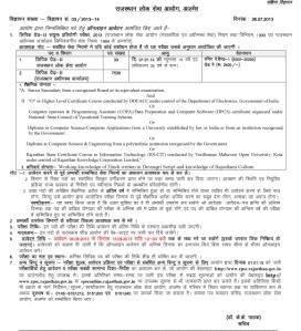 rpsc ldc new vacancy